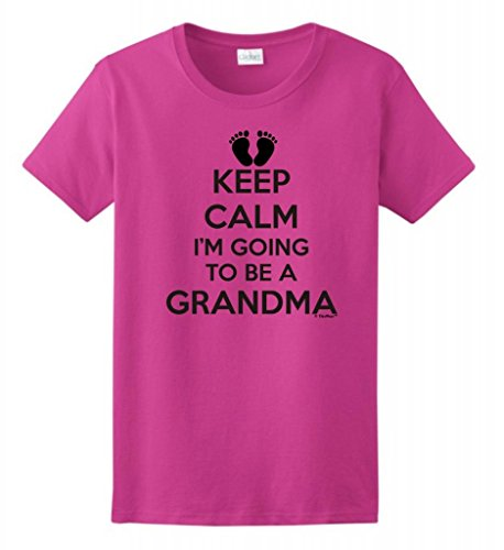 Keep Calm I'm Going to Be a Grandma Shirt - 8 Colors