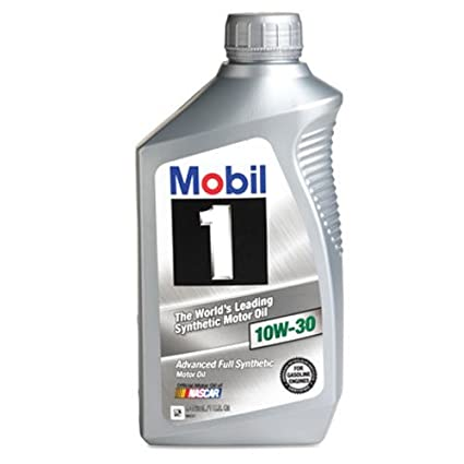 Mobil 1 98HC65 10W-30 Synthetic Motor Oil - 1 Quart by Mobil 1 ...