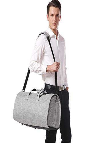 Oxford Mano Traje Bolsa Tela Bolso gray Impermeable Los Viajes Hombro De Gray Negocios Hombres Z3z P0TRqw