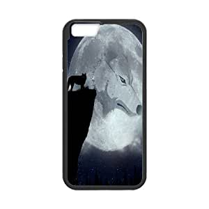 "C-Y-F-CASE DIY Design Howling Wild Wolf Pattern Phone Case For iPhone 6 Plus (5.5"")"