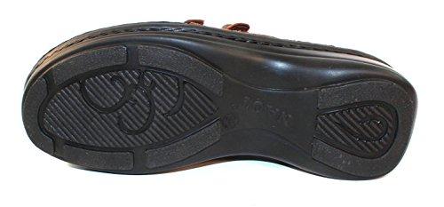 Calzature Da Donna Leilani Multi Raven, Guarnizione In Pelle Scamosciata Marrone