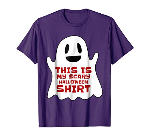 Mens This Is My Scary Halloween Shirt Tee For Teachers 3XL Purple -