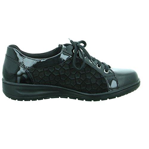 Lace 29001 Women's 00499 up Solidus Black Flats TUz1vxn