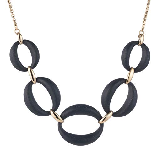 (Alexis Bittar Large Lucite Link Necklace )