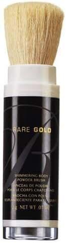 Avon Rare Gold Shimmering Body Powder Brush 0.07oz.