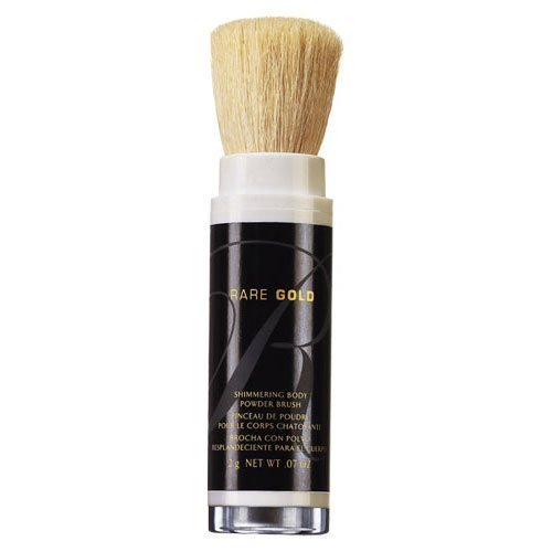 - Avon Rare Gold Shimmering Body Powder Brush 0.07oz.