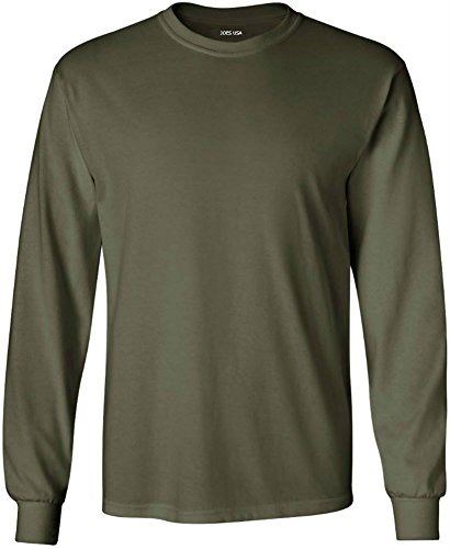 Adult Army Green T-shirt - 6