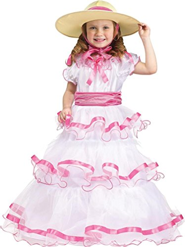Sweet Southern Belle Toddler Costume - Toddler (Toddler Southern Belle Costume)