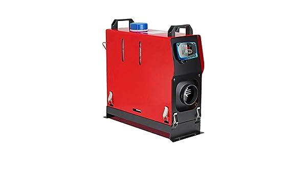 Eruditter Calefacción 5000 W Calentador de Aire purificador Auto Diesel Aire Calefacción 5 kW 12/24 V Interruptor de Llave un Barco de Motor de Camiones ...