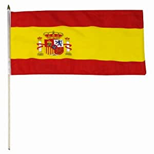Us Flag Store Spain Flag, 12 By 18-inch