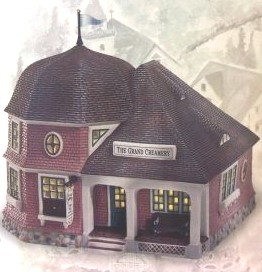 Retired Dept 56 Seasons Bay THE GRAND CREAMERY First Edition [Item #53305] (Retired 1999 Edition)
