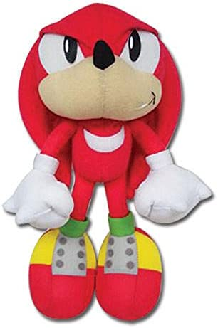 Amazon Com Great Eastern Sonic The Hedgehog Ge 7090 Knuckles Stuffed Plush 9 Toys Games