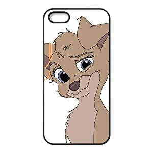 iPhone 5 5s Cell Phone Case Covers Black Lady and the Tramp II Scamp's Adventure Character Angel Pvswd