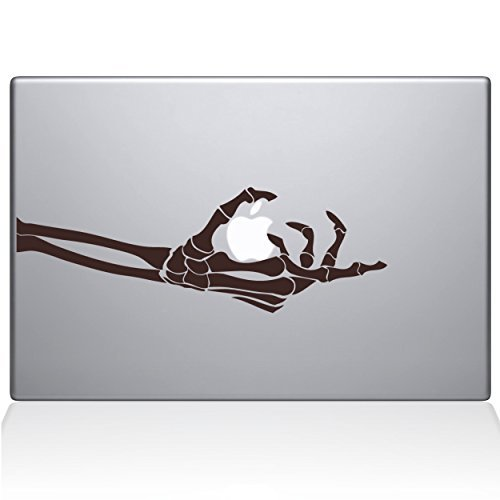 爆売り! The Decal Guru Skeleton Skeleton Vinyl Hand Grabs Macbook Decal B0788DHBPP Vinyl Sticker - 13 Macbook Pro (2016 & newer) - Brown (0221-MAC-13X-BRO) [並行輸入品] B0788DHBPP, 新しい季節:a6e9e5a4 --- svecha37.ru