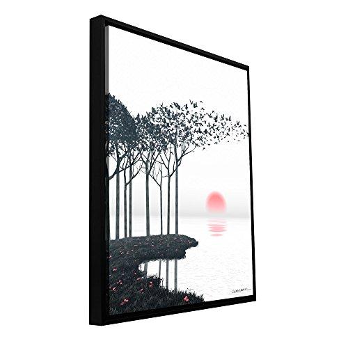 Artwall 0dec002a2432f Cynthia Decker S Aki Gallery Wrapped Floater Framed Canvas 24 Inch X 32 Inch