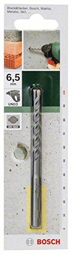 Bosch 2609256904 Concrete Drill Bit SDS-Quick 6, 5mmx55mmx3.94In