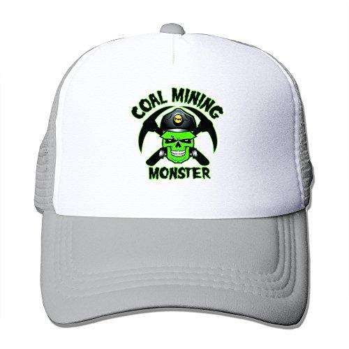 LKSJSADJ Hard Hat Coal Mining Monster Cards Put Labelst Ash