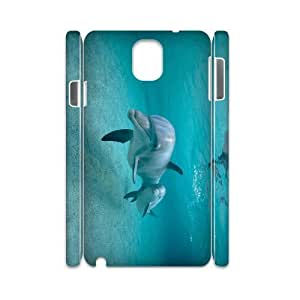 Dolphin Phone Case For samsung galaxy note 3 N9000 [Pattern-1]