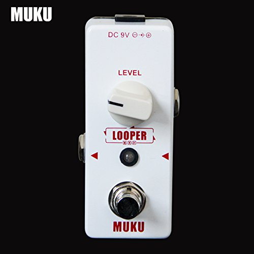 Looper easy simple straight Loop recording pedal Maximum recording limit 15 minutes No overdub limit pedal by MUKU BT-12