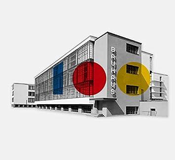 Beamalevich Puzzle-imán Centenario Escuela Bauhaus - Edificio de ...