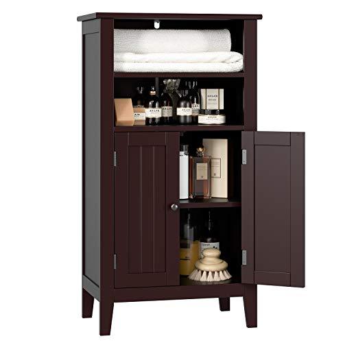 espresso bathroom cabinet - 2