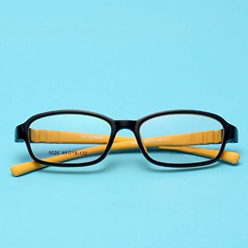 07a2de6189 Blue Yellow Tatkldisu Avec De color Couleur En Monture Bonbon Souple Des  Pour Femmes Caoutchouc Lunettes Enfants 6Z06qw