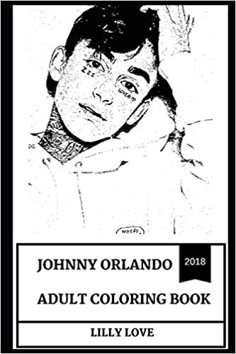 Johnny Orlando Adult Coloring Book: Famous Internet ...