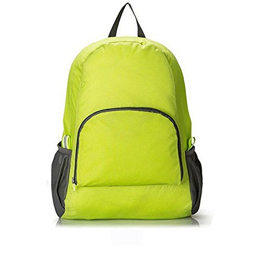 Price comparison product image Ultra-light Ultra-thin Splash Water-proof Folded Portable Traveling Backpack (Green)