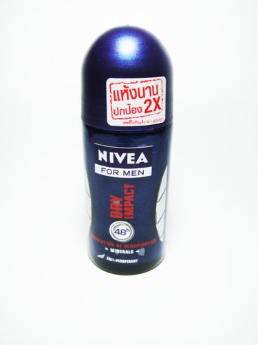 Nivea for Men Dry Impact 48 Hours Regulation of Perspiration Deodorant 50ml with Minerals