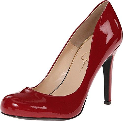 Jessica Simpson Womens Calie Pump True Red