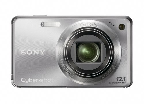 230k Lcd - Sony Cyber-shot DSC-W290 12.1 MP Digital Camera with 5x Optical Zoom and Super Steady Shot Image Stabilization (Silver)