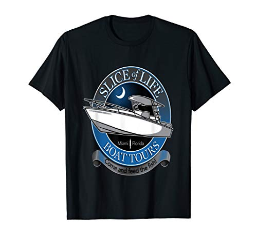 Slice Of Life Boat Tours T-Shirt