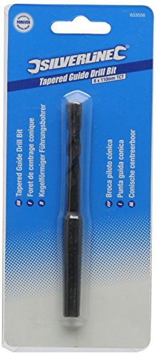 (Silverline Tools - Morse Tapered Guide Drill Bit - 8 x 110mm)