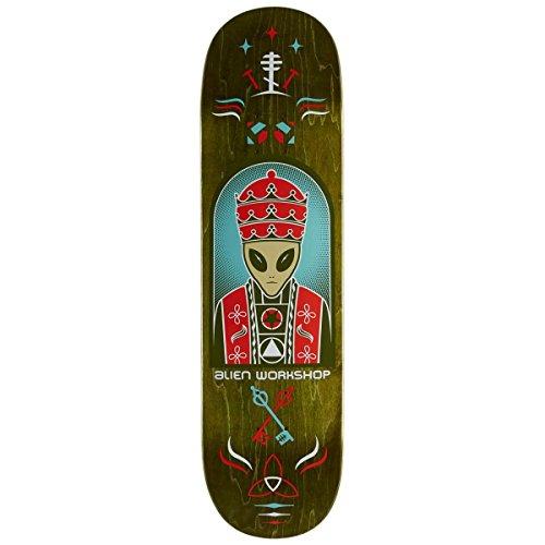 タービン盲信宣言エイリアンワークショップ プリースト スケートボードデッキ - 8.50インチ