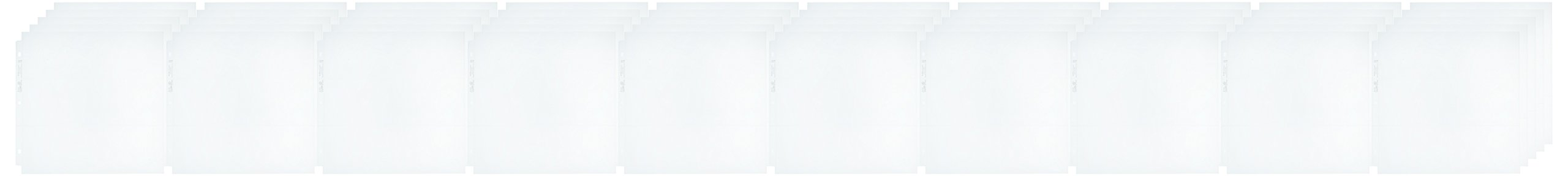 We R Memory Keepers 12 x 12-inch (6-4x6-inch pockets) 3-Ring Album Page Protectors by 50 pack
