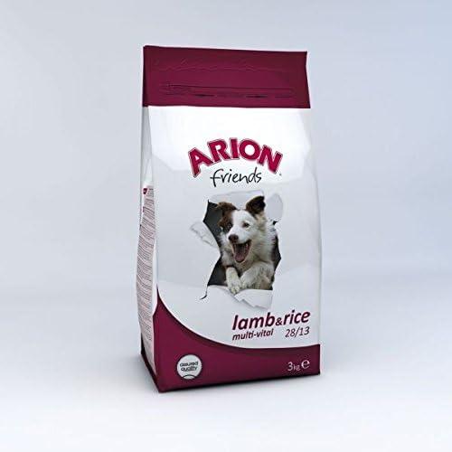 ARION Friends Lamb & Rice - Peso - 3 kg: Amazon.es: Jardín