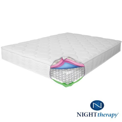 Night Therapy Spring 8 Inch Premium Mattress, Twin