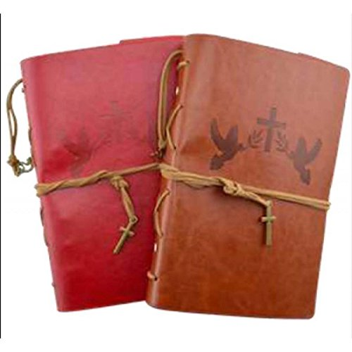 JL Rocken Christian Faith Leather Journal Planner Organizer Set From