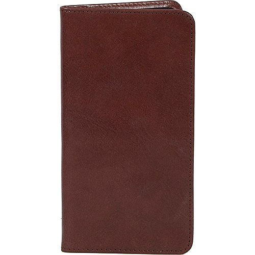 Scully Harness Leather Pocket Weekly Planner (Tobacco)