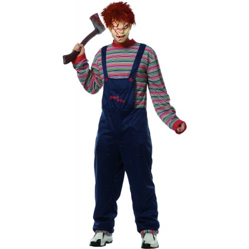 [Chucky Costume - X-Large - Chest Size 46-50] (Chucky Costume Shoes)