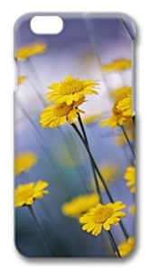 Camomille Flowers Custom iPhone 6 Case Cover Polycarbonate 3D