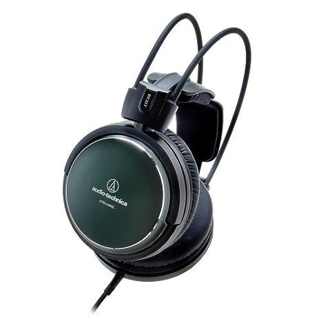 Audio-Technica ATH-A990Z Geschlossener HiFi-Kopfh/örer kr/äftiges dunkelgr/ün-metallic Finish