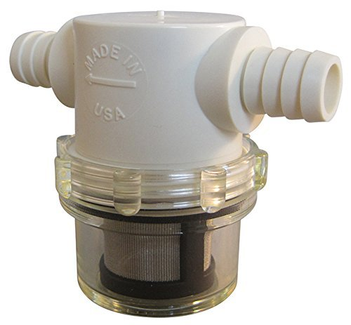 1/2' Hose Barb In-Line Strainer with 50 mesh stainless steel filter screen VacMotion Inc. PLS-S12B-NCB-050