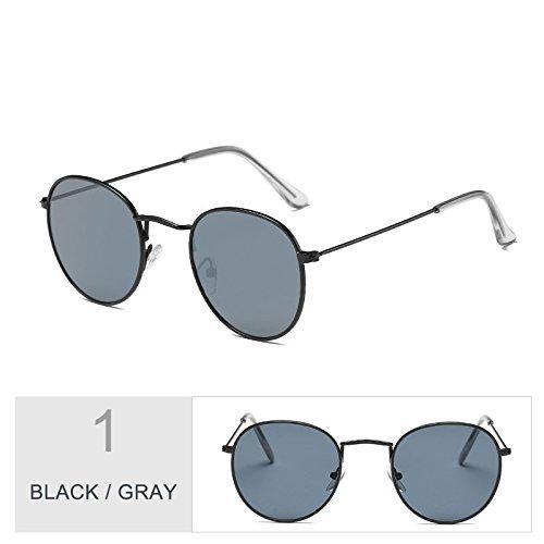 Sol En Mujeres Morado Enormes Gafas Black Gafas Hombres Unas De TIANLIANG04 De Plata Uv400 Steampunk Oval Para Bastidor Metal Del Sol Gray HnxaFIgq