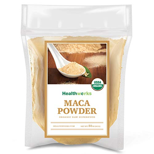 Healthworks Maca Powder Raw Organic 2 Pound