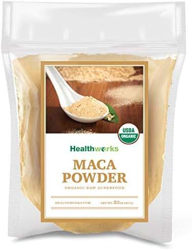 Healthworks Maca Powder Raw Organic 2 Pound
