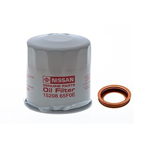 - Nissan Engine Oil Filter & Drain Plug Gasket Seal Crush Ring Washer OEM NEW
