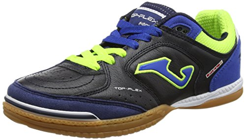 JOMA Top Flex, Chaussures de Futsal Mixte Adulte, Bleu (Navy-Royal), 41 EU