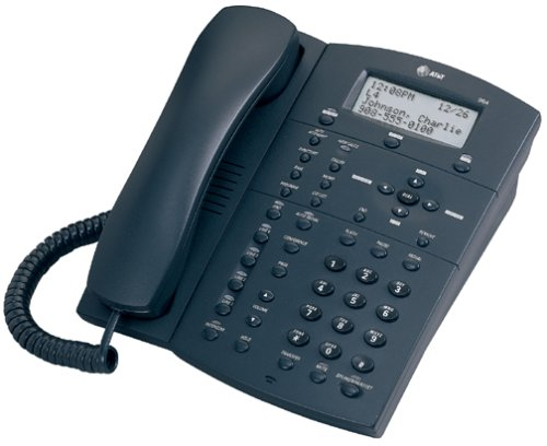 AT&T 964 Corded Expandable 4-Line Intercom Speakerphone with Digital Answering System (Graphite)
