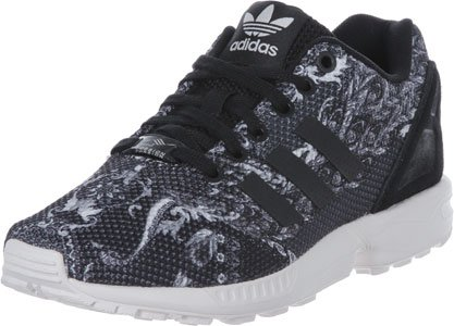 Originals ZX Flux adidas nero Shoes Schuhe Women S76592 W Damen Sneaker 4ZfHHAx